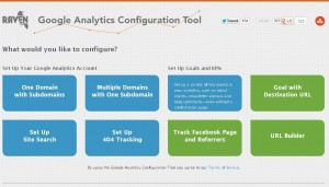 Google Analytics Setup and Configuration Tool